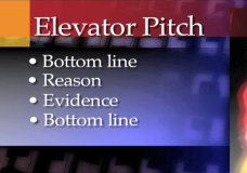 PowerSpeaking – Elevator Pitch
