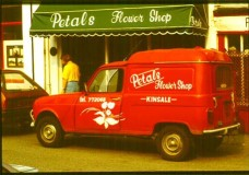 ireland red truck kinsale