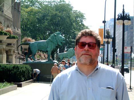 chicago museum lions