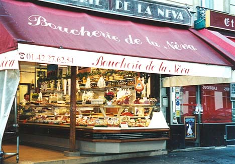 paris boucherie